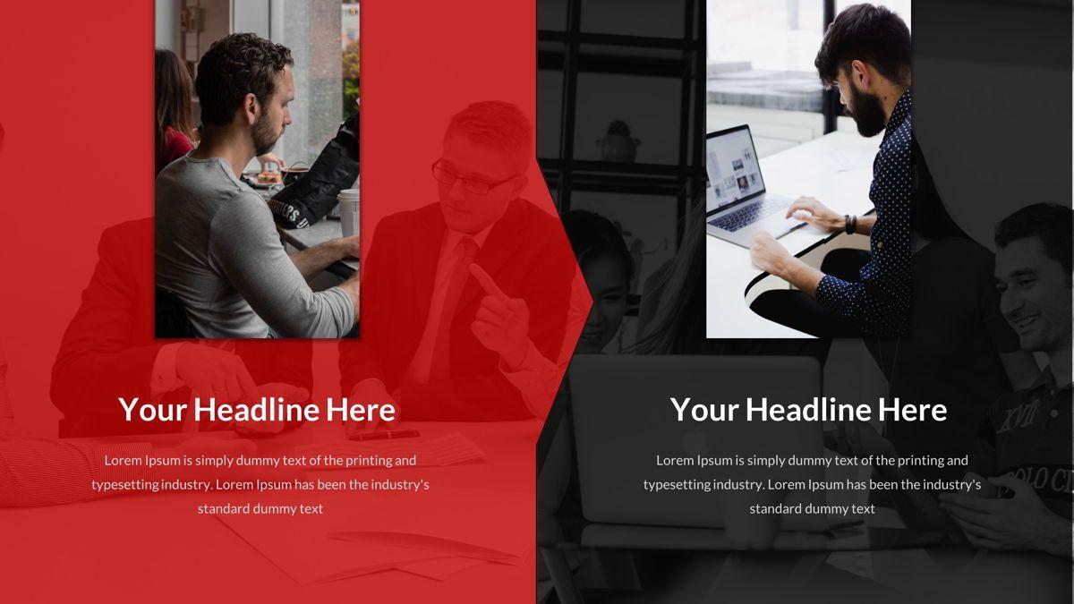 Marketing - Creative Business Google Slides Template, Slide 21, 05911, Business Models — PoweredTemplate.com