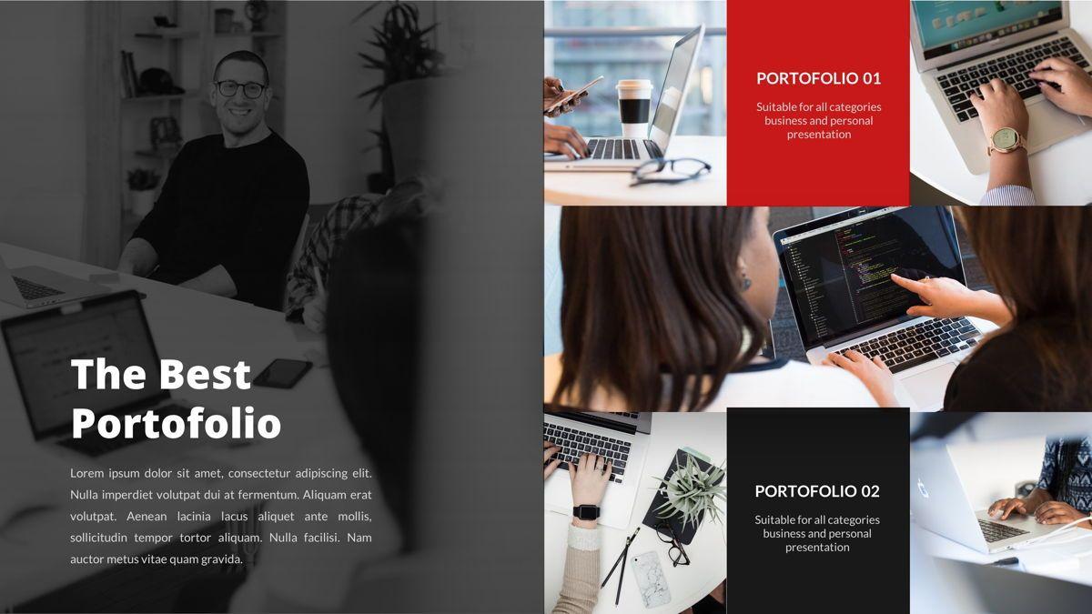 Marketing - Creative Business Google Slides Template, Slide 24, 05911, Business Models — PoweredTemplate.com