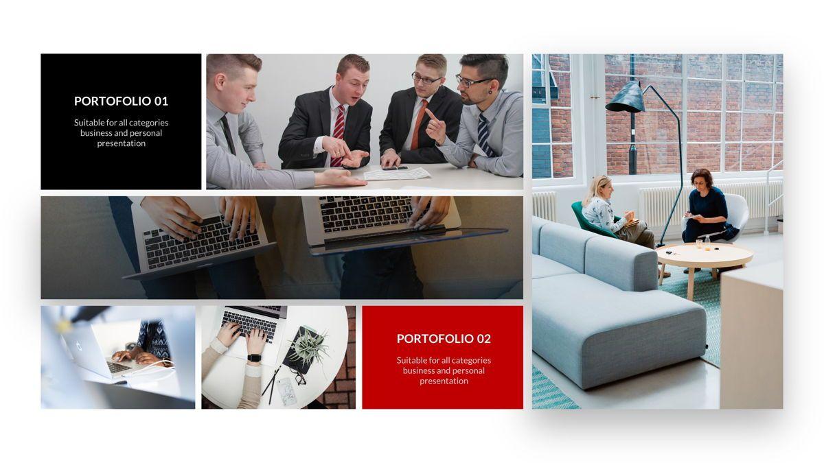 Marketing - Creative Business Google Slides Template, Slide 26, 05911, Business Models — PoweredTemplate.com