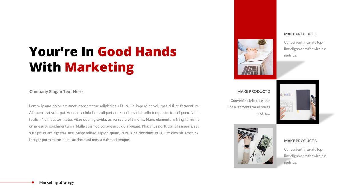 Marketing - Creative Business Google Slides Template, Slide 3, 05911, Business Models — PoweredTemplate.com
