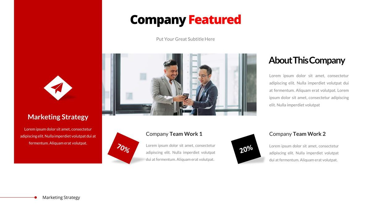 Marketing - Creative Business Google Slides Template, Slide 4, 05911, Business Models — PoweredTemplate.com