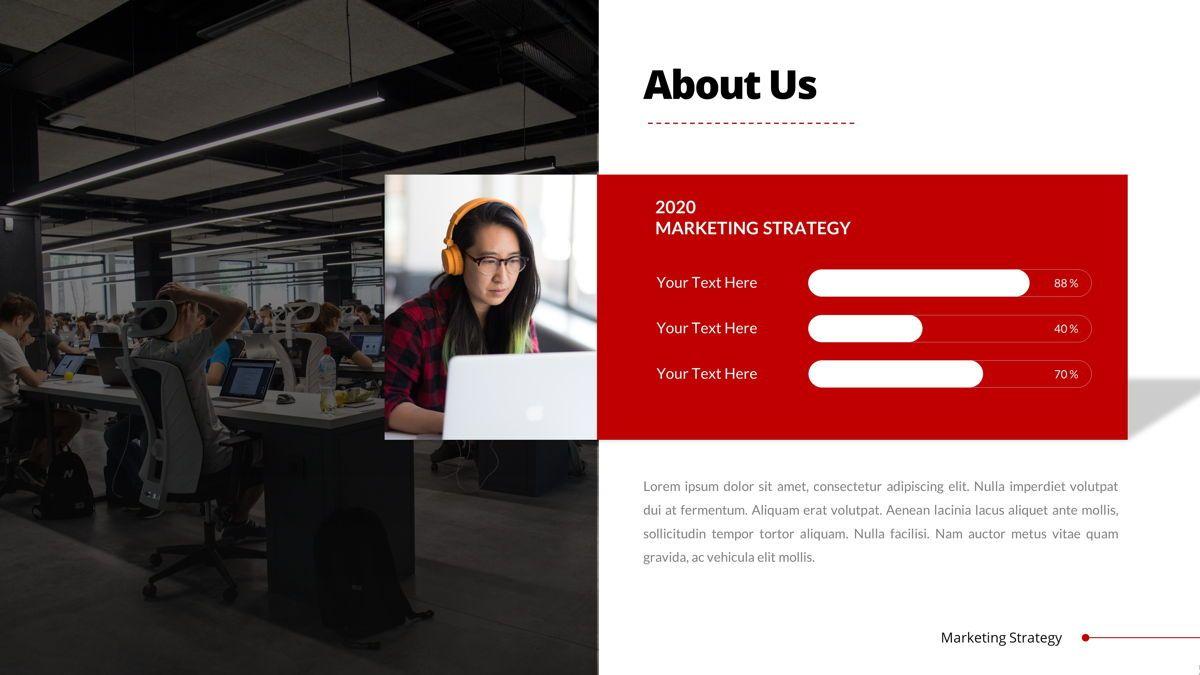 Marketing - Creative Business Google Slides Template, Slide 6, 05911, Business Models — PoweredTemplate.com