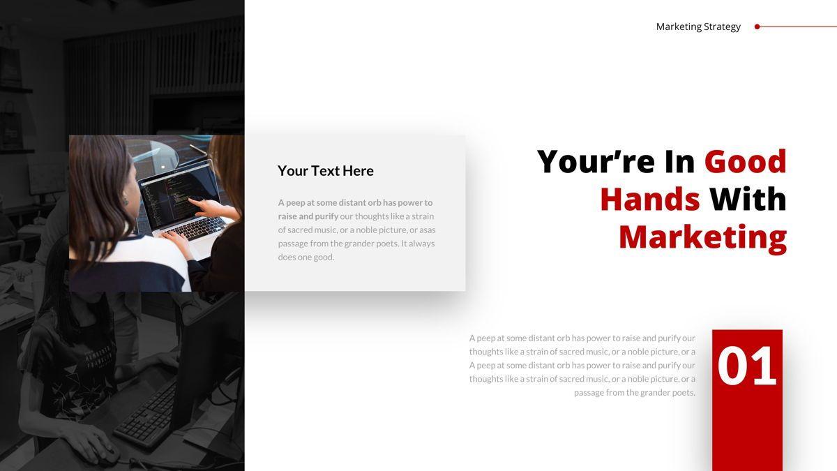 Marketing - Creative Business Google Slides Template, Slide 8, 05911, Business Models — PoweredTemplate.com