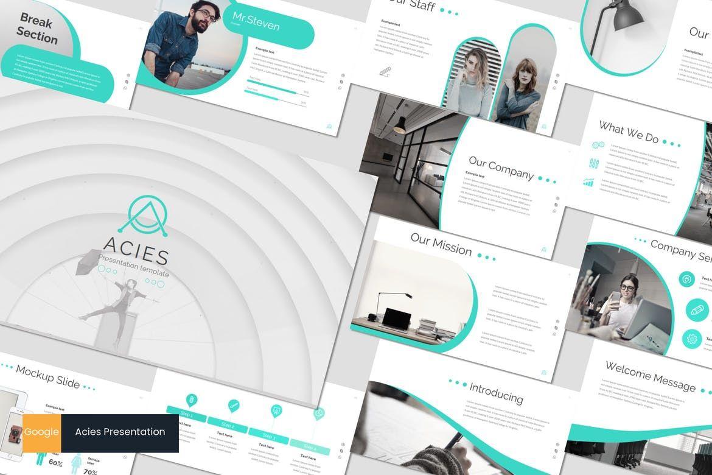 Acies - Google Slides Template, 05914, Presentation Templates — PoweredTemplate.com