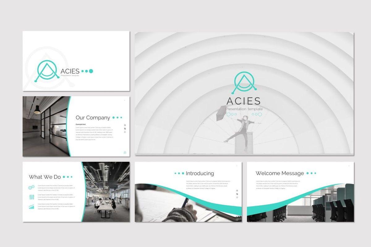 Acies - Google Slides Template, Slide 2, 05914, Presentation Templates — PoweredTemplate.com