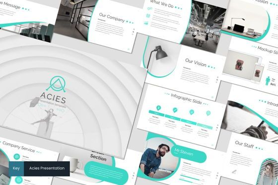 Presentation Templates: Acies - Keynote Template #05915