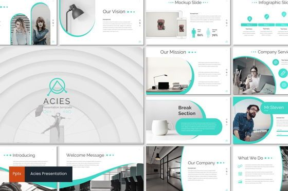 Presentation Templates: Acies - PowerPoint Template #05916