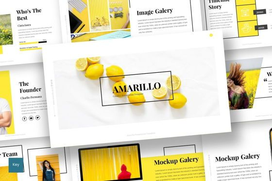 Presentation Templates: Amarillo - Keynote Template #05918