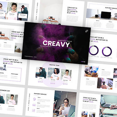 Presentation Templates: Creavy - PowerPoint Template #05923