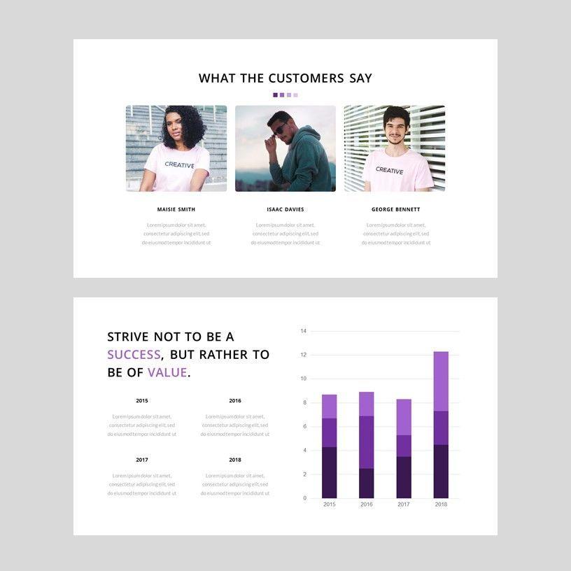 Creavy - PowerPoint Template, Slide 10, 05923, Presentation Templates — PoweredTemplate.com