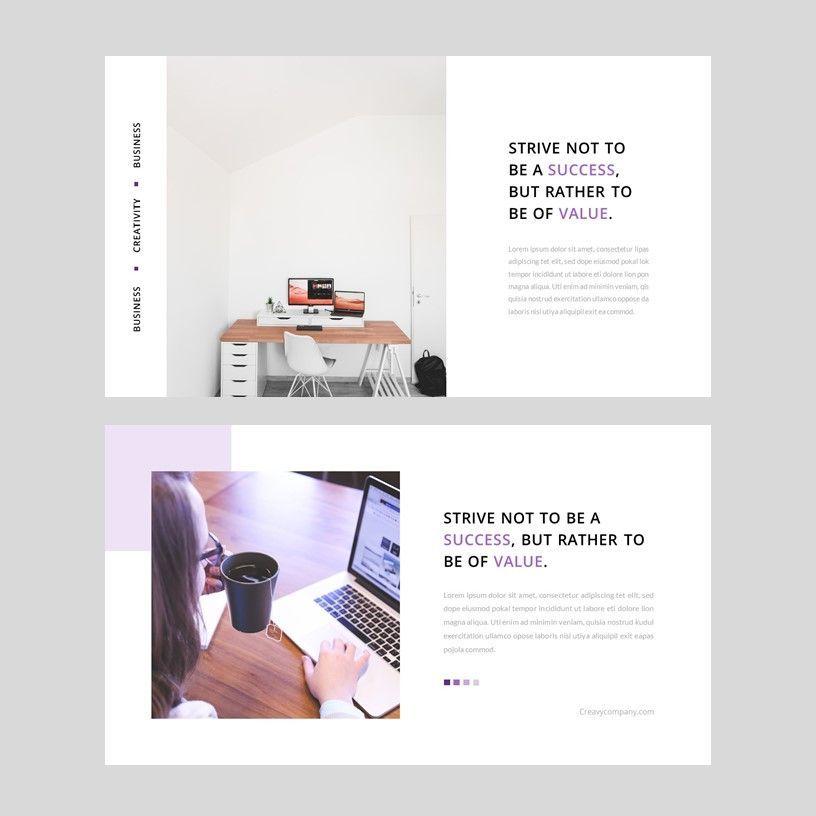 Creavy - PowerPoint Template, Slide 11, 05923, Presentation Templates — PoweredTemplate.com