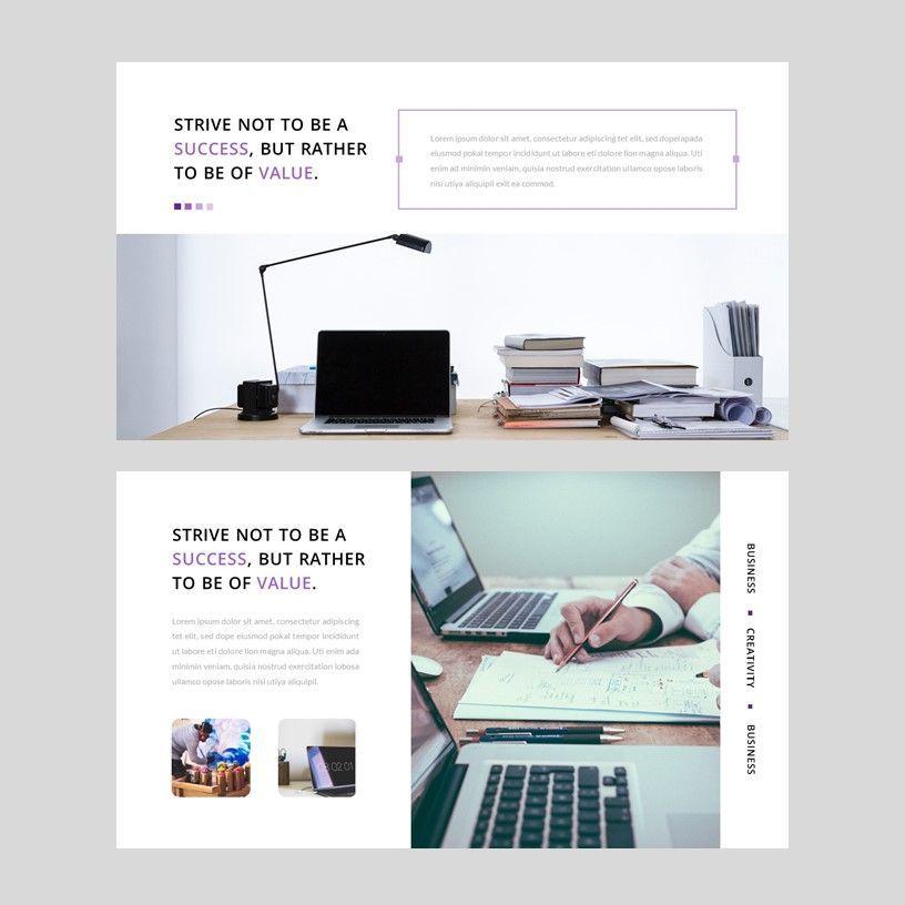 Creavy - PowerPoint Template, Slide 4, 05923, Presentation Templates — PoweredTemplate.com