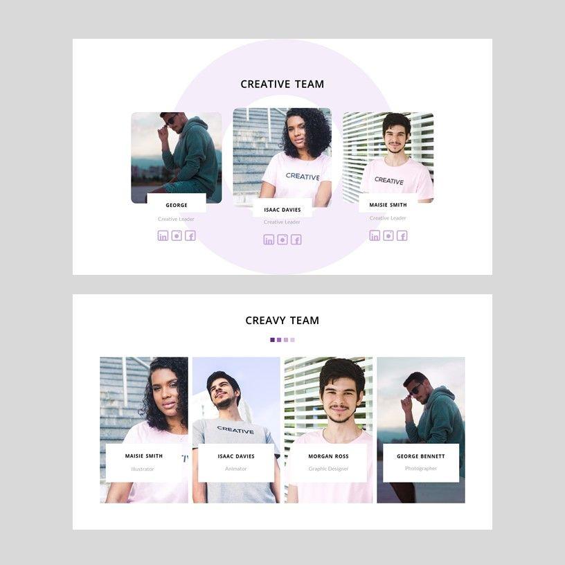 Creavy - PowerPoint Template, Slide 5, 05923, Presentation Templates — PoweredTemplate.com