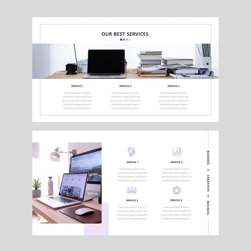 Creavy - PowerPoint Template, Slide 9, 05923, Presentation Templates — PoweredTemplate.com