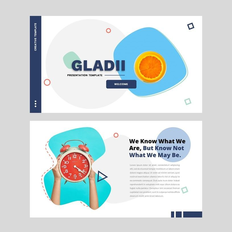 Gladii - Creative Powerpoint Template, Slide 2, 05924, Presentation Templates — PoweredTemplate.com