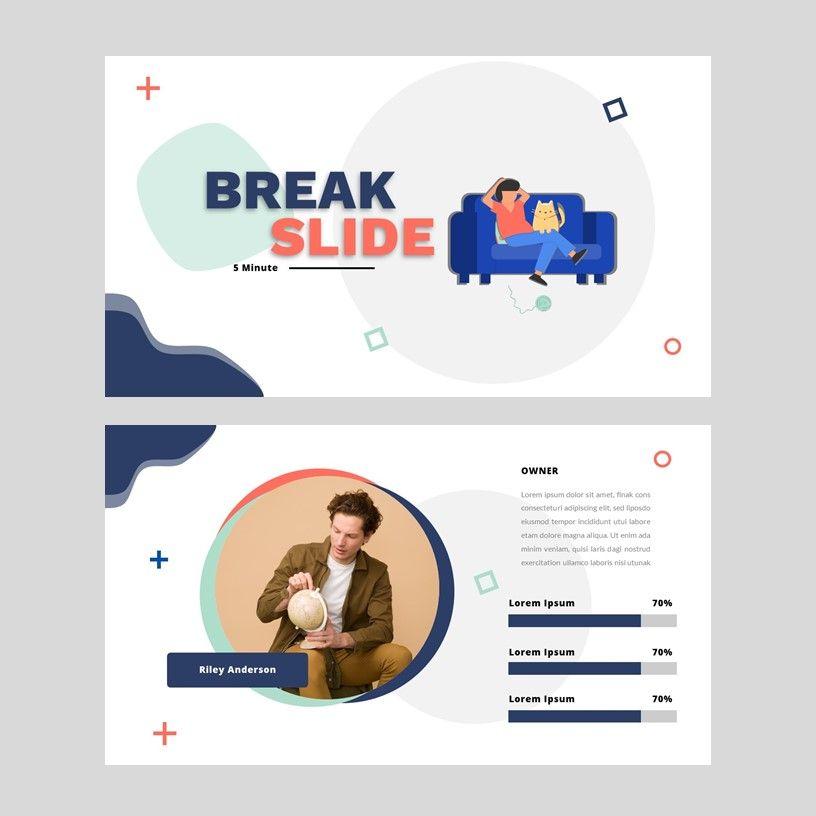 Gladii - Creative Powerpoint Template, Slide 9, 05924, Presentation Templates — PoweredTemplate.com