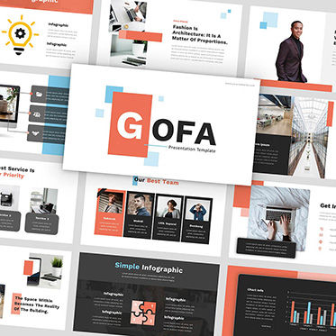 Presentation Templates: Gofa - PowerPoint Template #05925