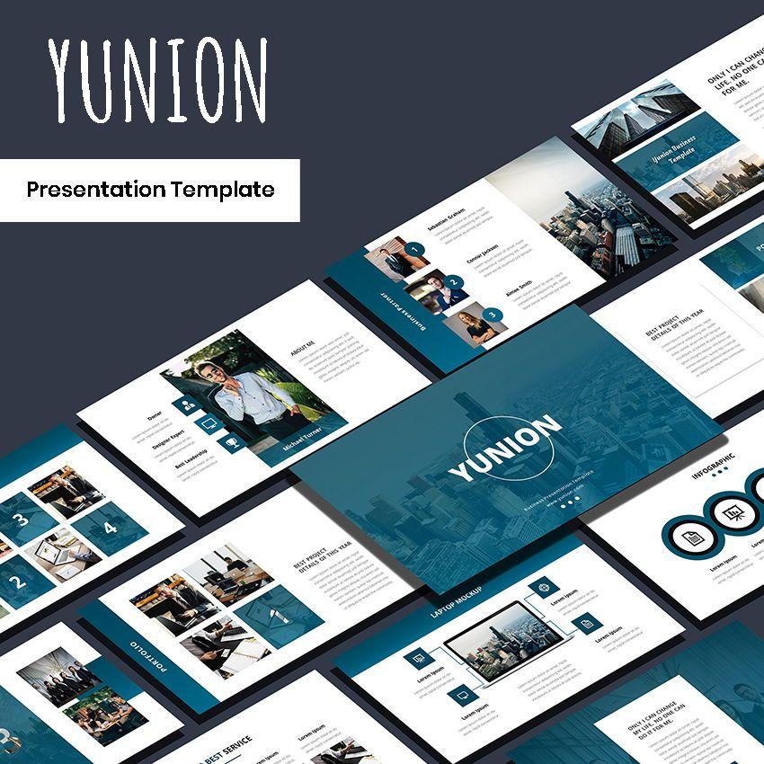 Yunion - PowerPoint Template, 05926, Presentation Templates — PoweredTemplate.com