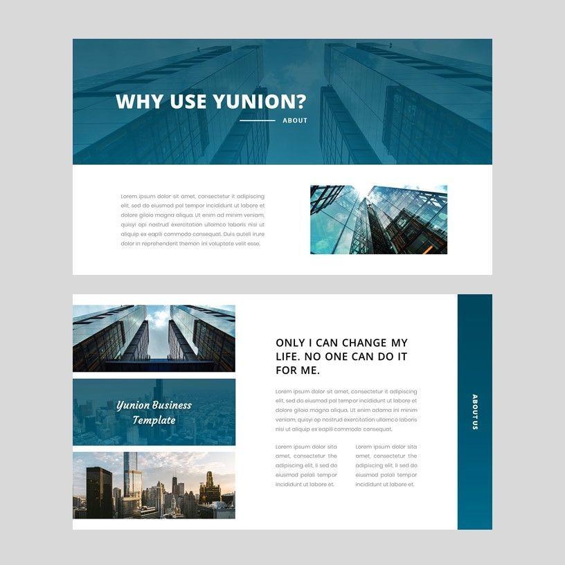 Yunion - PowerPoint Template, Slide 4, 05926, Presentation Templates — PoweredTemplate.com