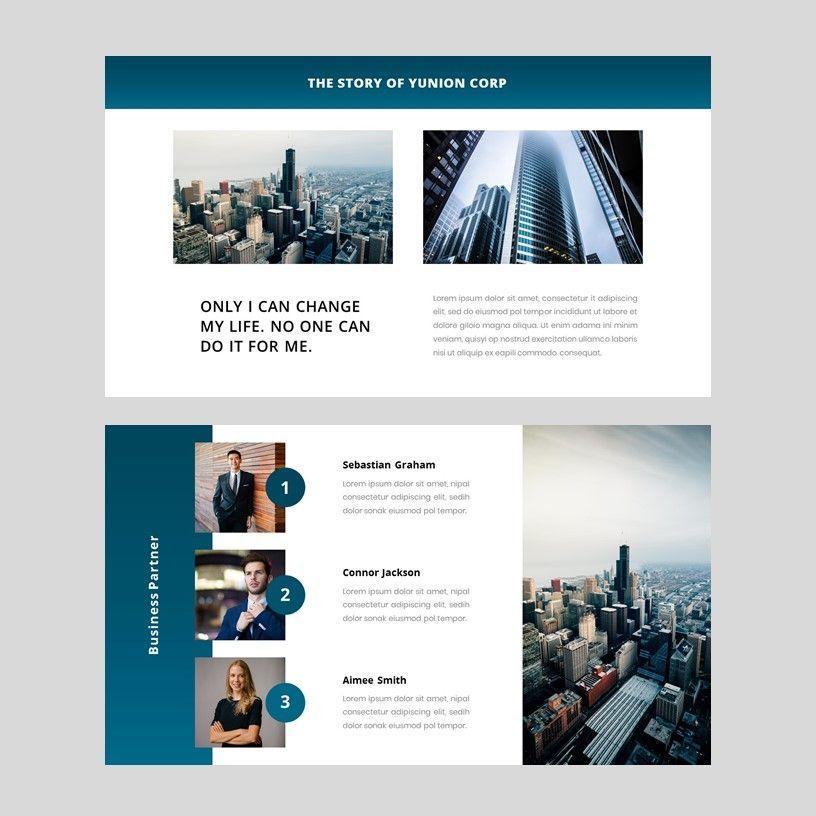 Yunion - PowerPoint Template, Slide 5, 05926, Presentation Templates — PoweredTemplate.com