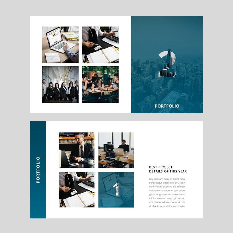 Yunion - PowerPoint Template, Slide 8, 05926, Presentation Templates — PoweredTemplate.com