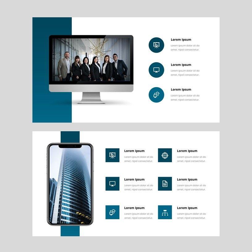 Yunion - PowerPoint Template, Slide 9, 05926, Presentation Templates — PoweredTemplate.com