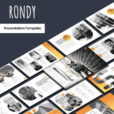 Presentation Templates: Rondy - PowerPoint Template #05928