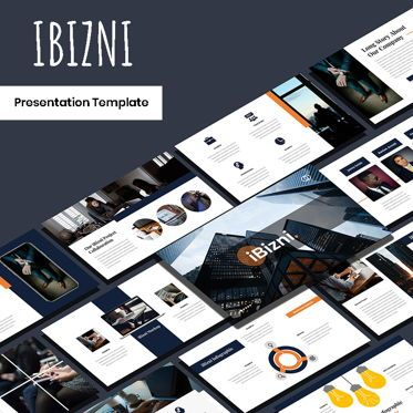 Presentation Templates: Ibizni - PowerPoint Template #05930