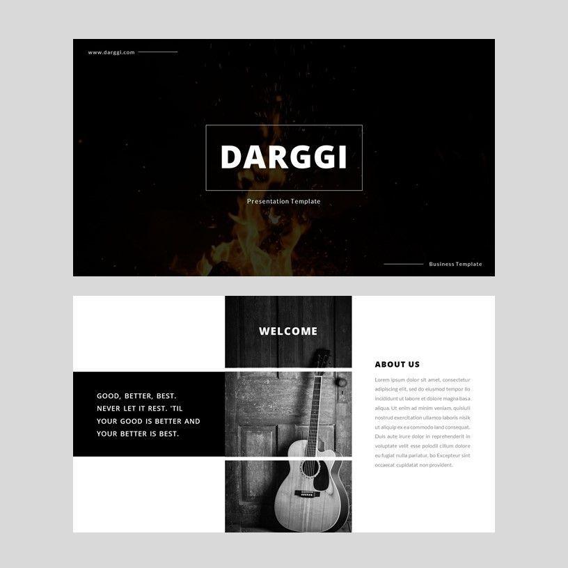 Darggi - PowerPoint Template, Slide 2, 05931, Presentation Templates — PoweredTemplate.com