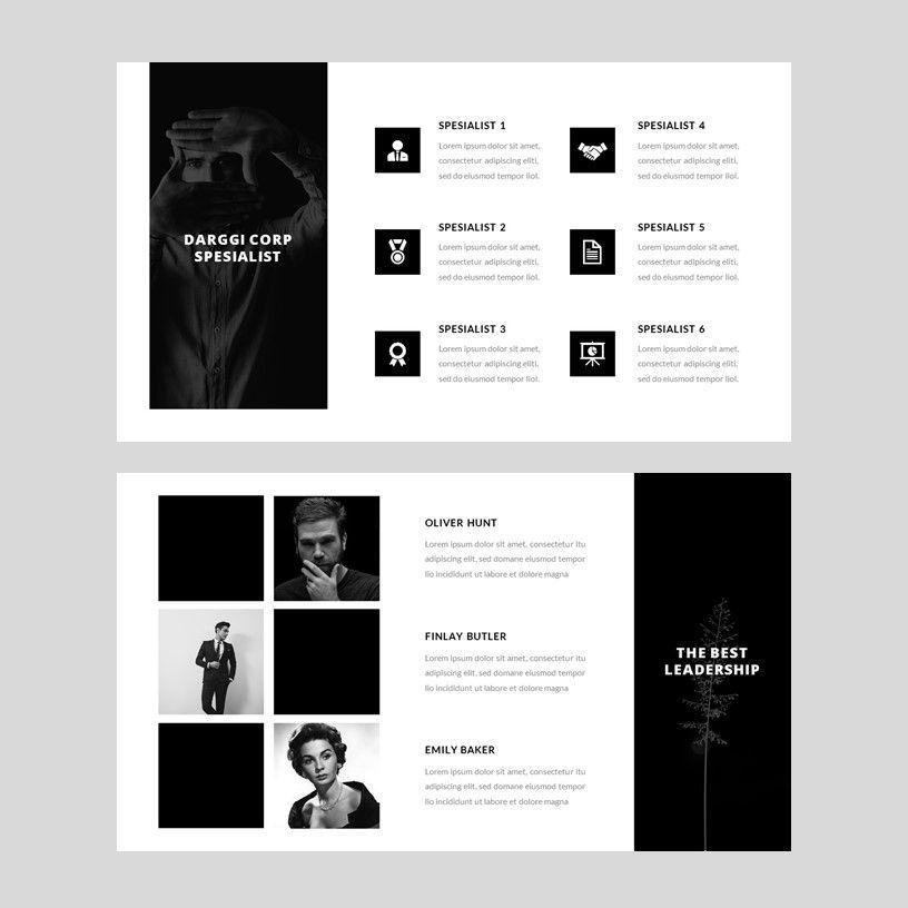 Darggi - PowerPoint Template, Slide 6, 05931, Presentation Templates — PoweredTemplate.com