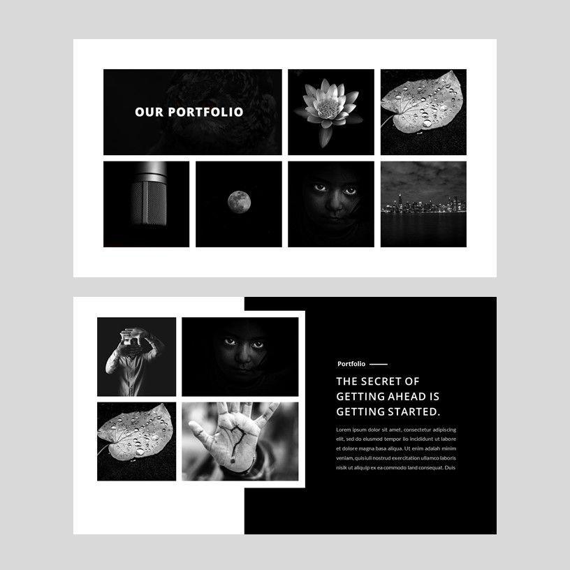 Darggi - PowerPoint Template, Slide 8, 05931, Presentation Templates — PoweredTemplate.com