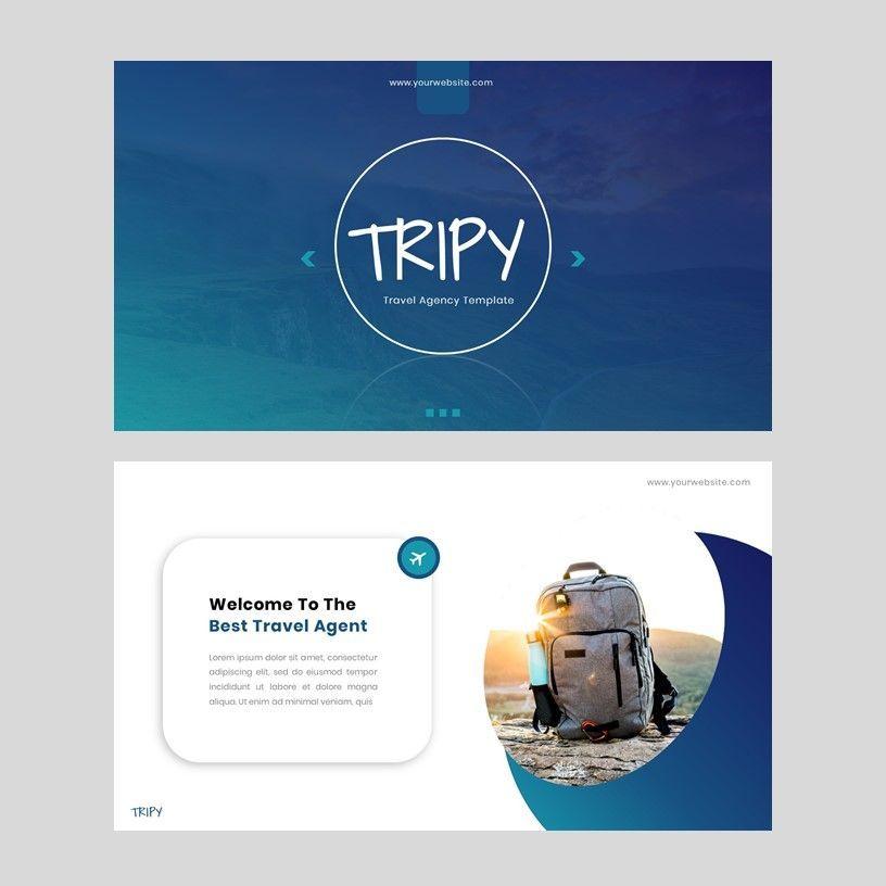 Tripy - Google Slides Template, Slide 2, 05934, Presentation Templates — PoweredTemplate.com