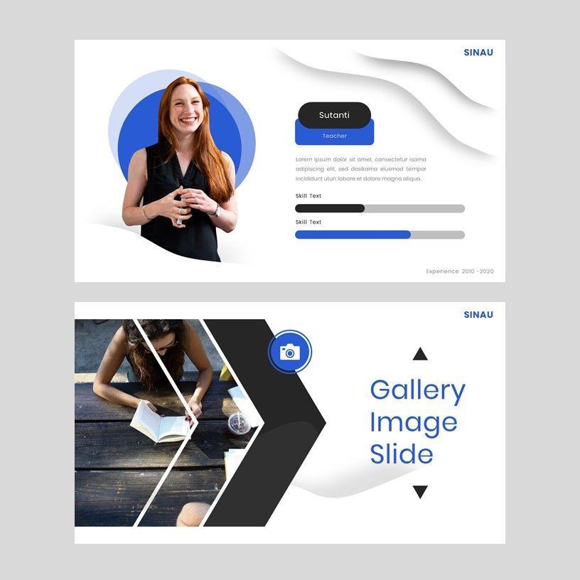 Sinau - Google Slides Template, Slide 12, 05935, Presentation Templates — PoweredTemplate.com
