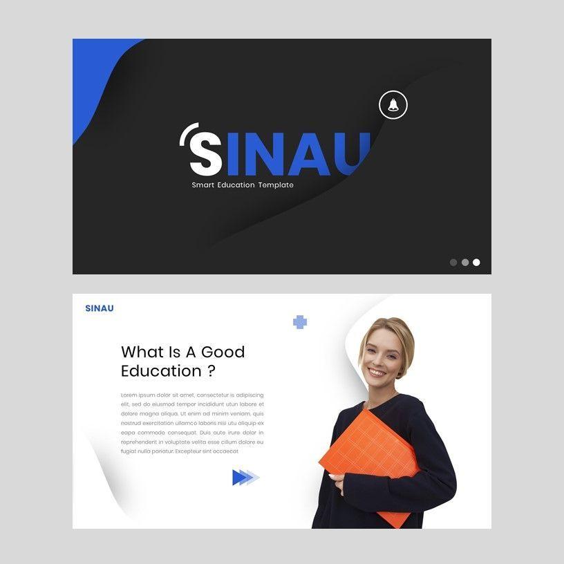 Sinau - Google Slides Template, Slide 2, 05935, Presentation Templates — PoweredTemplate.com