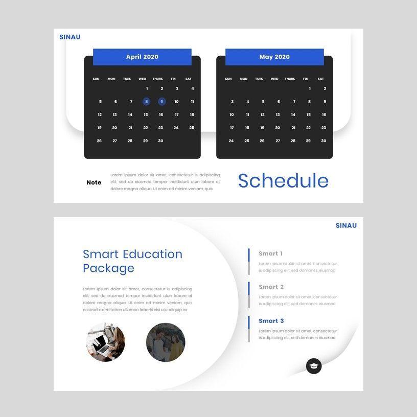 Sinau - Google Slides Template, Slide 9, 05935, Presentation Templates — PoweredTemplate.com