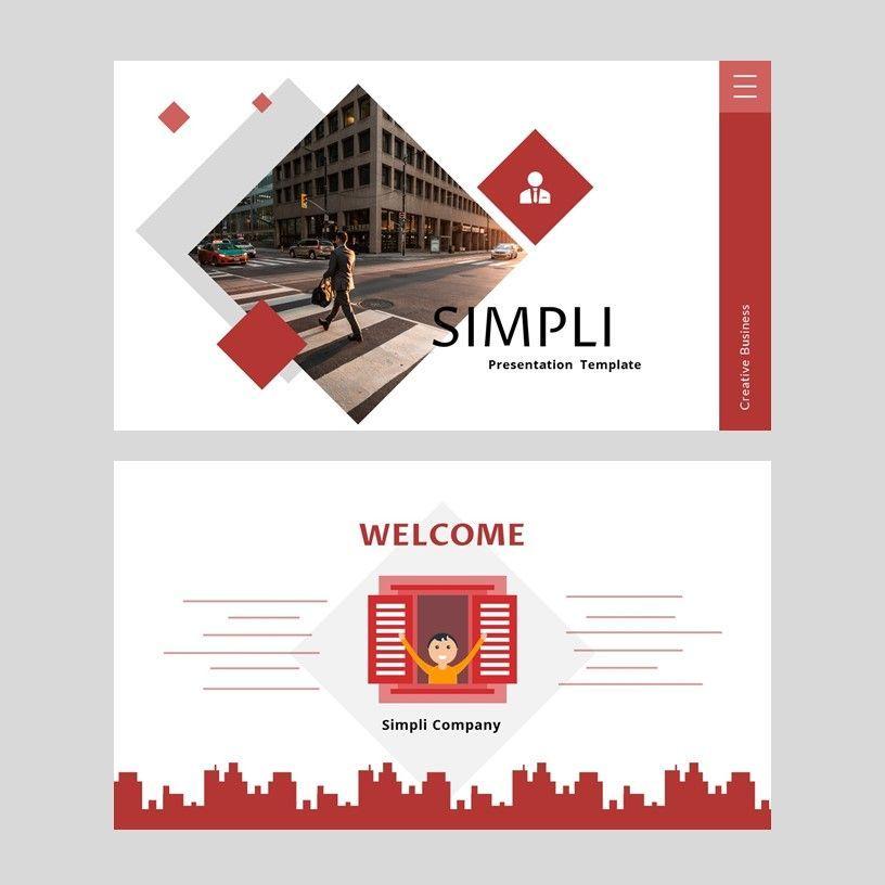 Simpli - Google Slides Template, Slide 2, 05936, Presentation Templates — PoweredTemplate.com