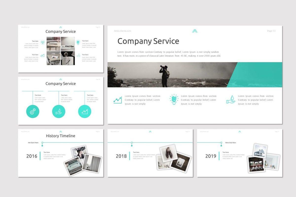 Amous - Powerpoint Template, Slide 3, 05937, Presentation Templates — PoweredTemplate.com