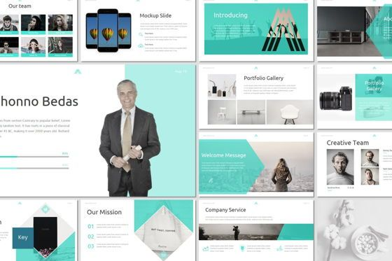 Presentation Templates: Amous - Keynote Template #05939