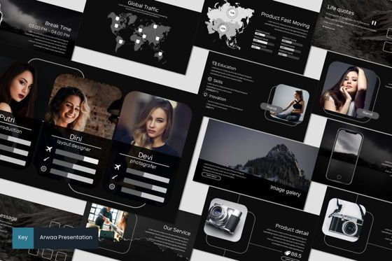 Presentation Templates: Arwaa - Keynote Template #05941