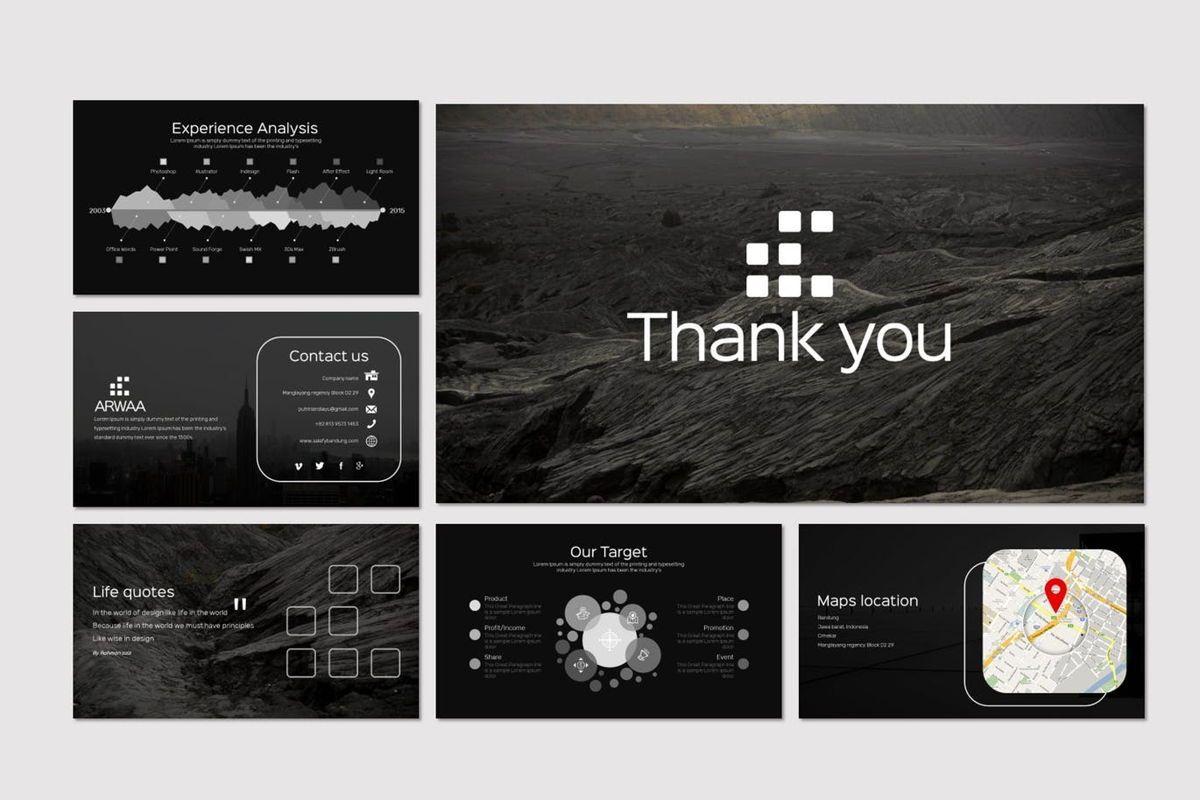 Arwaa - Keynote Template, Slide 6, 05941, Presentation Templates — PoweredTemplate.com