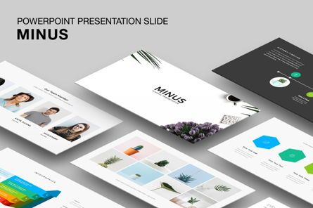 Presentation Templates: Minus - Powerpoint Template #05943