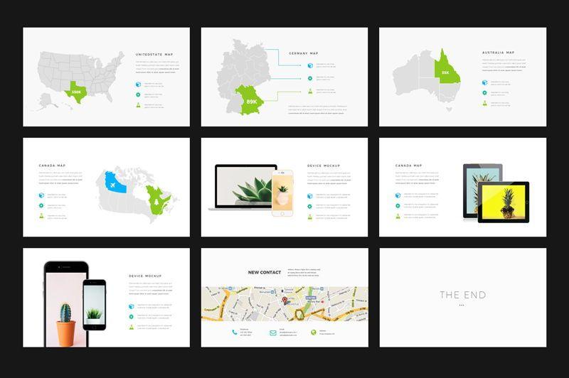 Minus - Powerpoint Template, Slide 5, 05943, Presentation Templates — PoweredTemplate.com