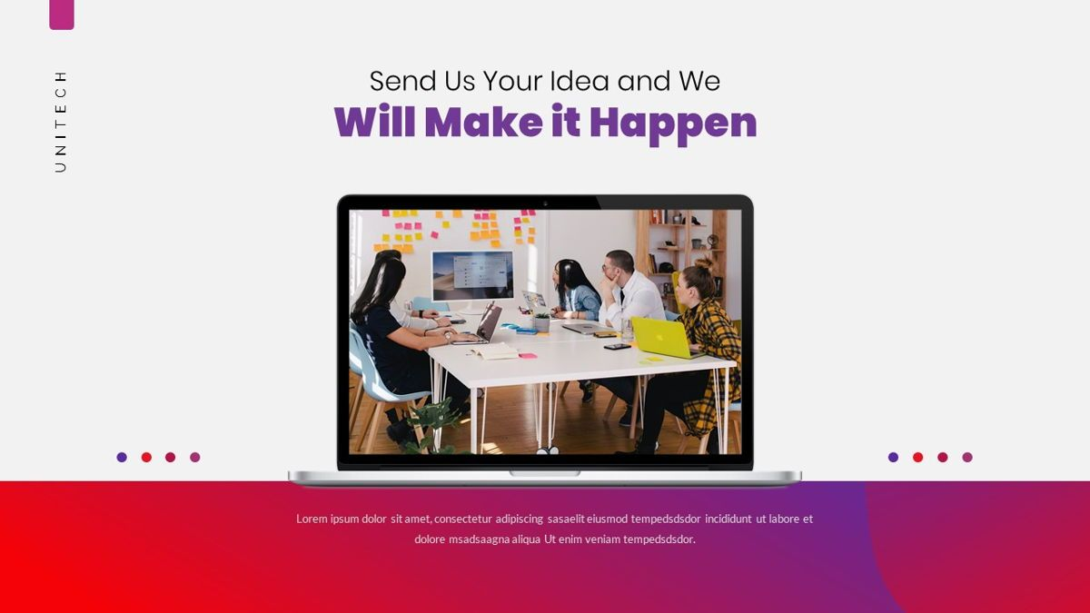 Unitech - Creative Business Powerpoint Template, Slide 27, 05948, Business Models — PoweredTemplate.com
