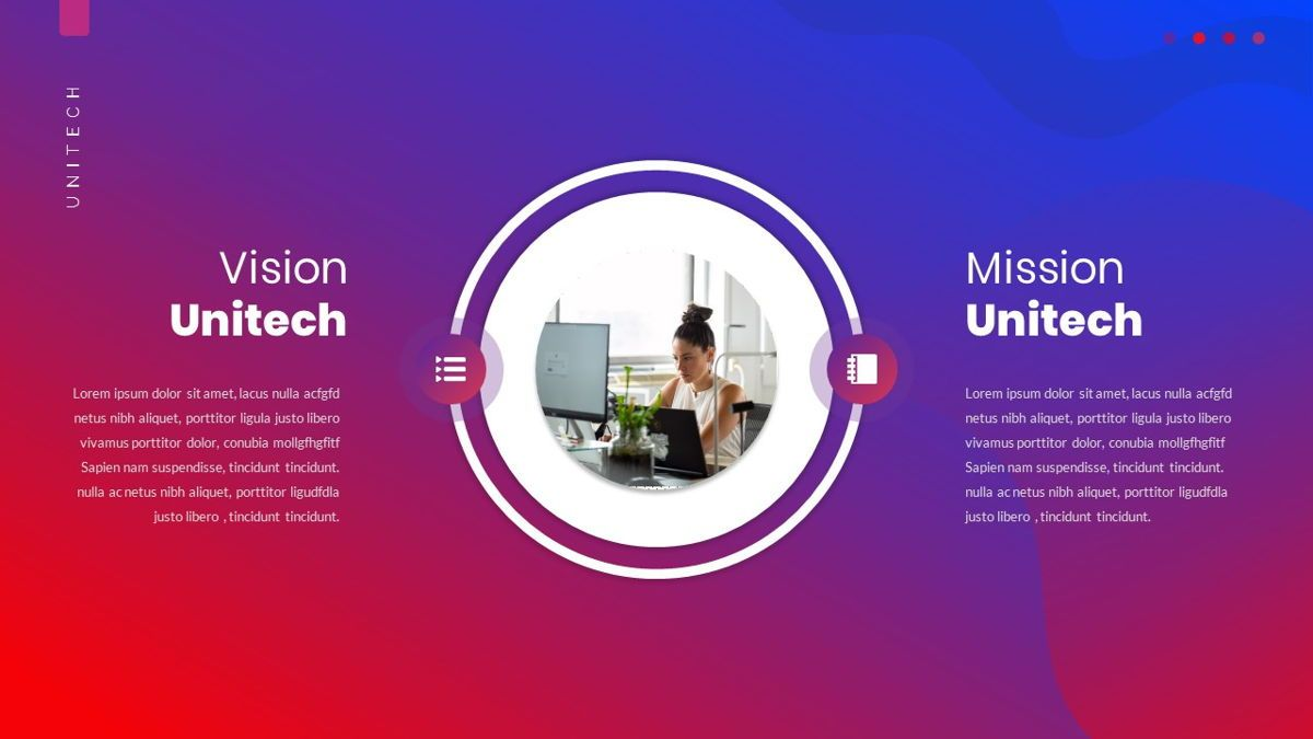 Unitech - Creative Business Powerpoint Template, Slide 8, 05948, Business Models — PoweredTemplate.com