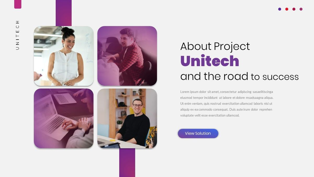 Unitech - Creative Business Powerpoint Template, Slide 9, 05948, Business Models — PoweredTemplate.com