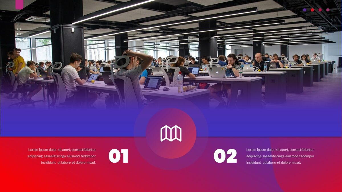 Unitech - Creative Business Google Slides Template, Slide 10, 05949, Business Models — PoweredTemplate.com