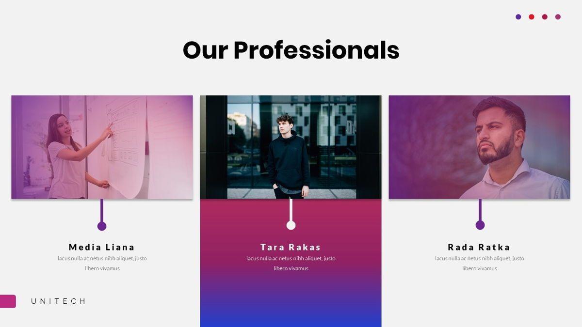 Unitech - Creative Business Google Slides Template, Slide 11, 05949, Business Models — PoweredTemplate.com