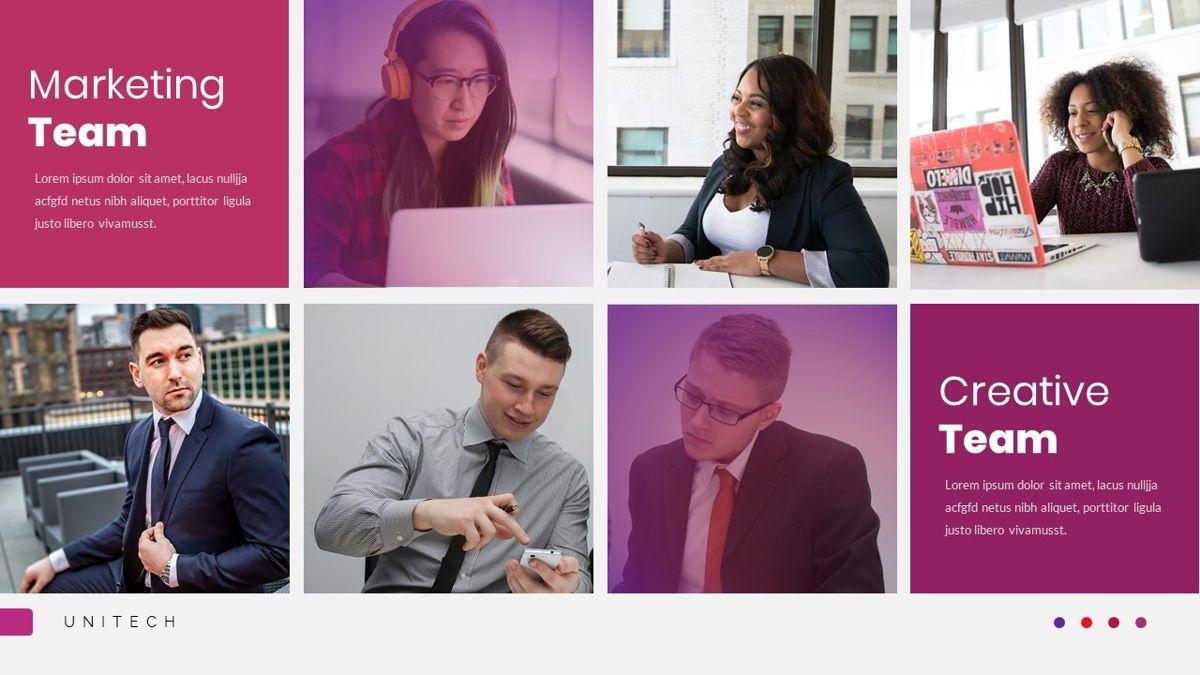 Unitech - Creative Business Google Slides Template, Slide 13, 05949, Business Models — PoweredTemplate.com