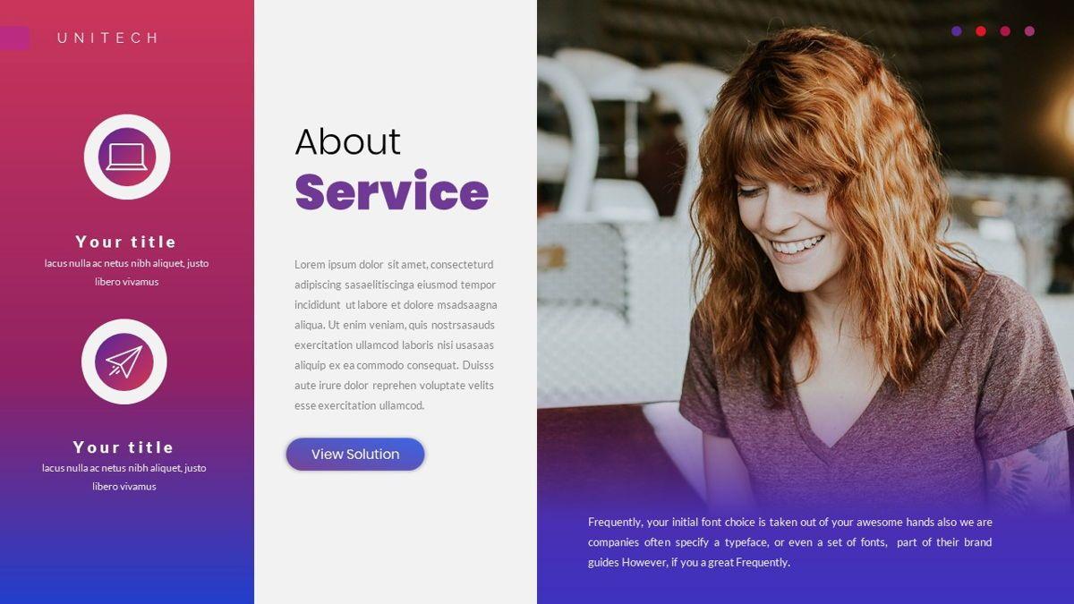Unitech - Creative Business Google Slides Template, Slide 15, 05949, Business Models — PoweredTemplate.com