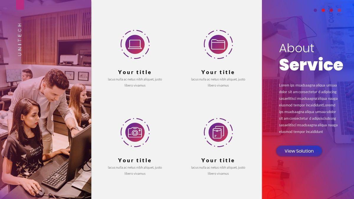 Unitech - Creative Business Google Slides Template, Slide 17, 05949, Business Models — PoweredTemplate.com